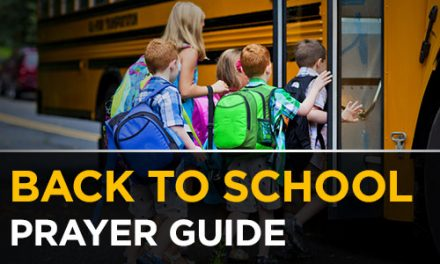 Back To School Prayer Guide