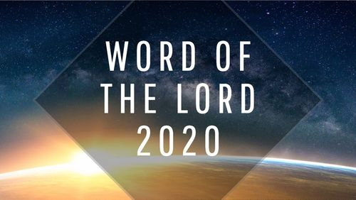 The Apostolic Council of Prophetic Elders Word of the Lord for 2020